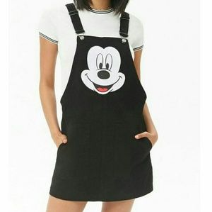 NWT DISNEY Denim Mickey Overalls
